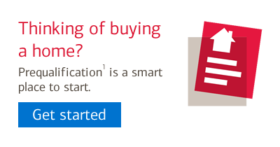 Get Started: Thinking of buying a home? Prequalification is a smart place to start.